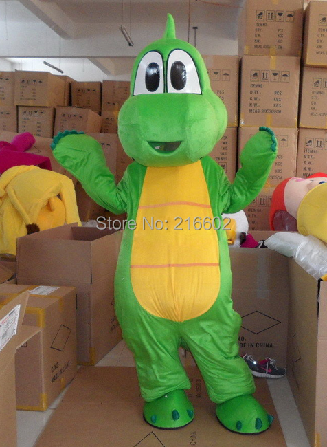 Cosplay Costumes Professional Yoshi Dinosaur Super Mario Mascot