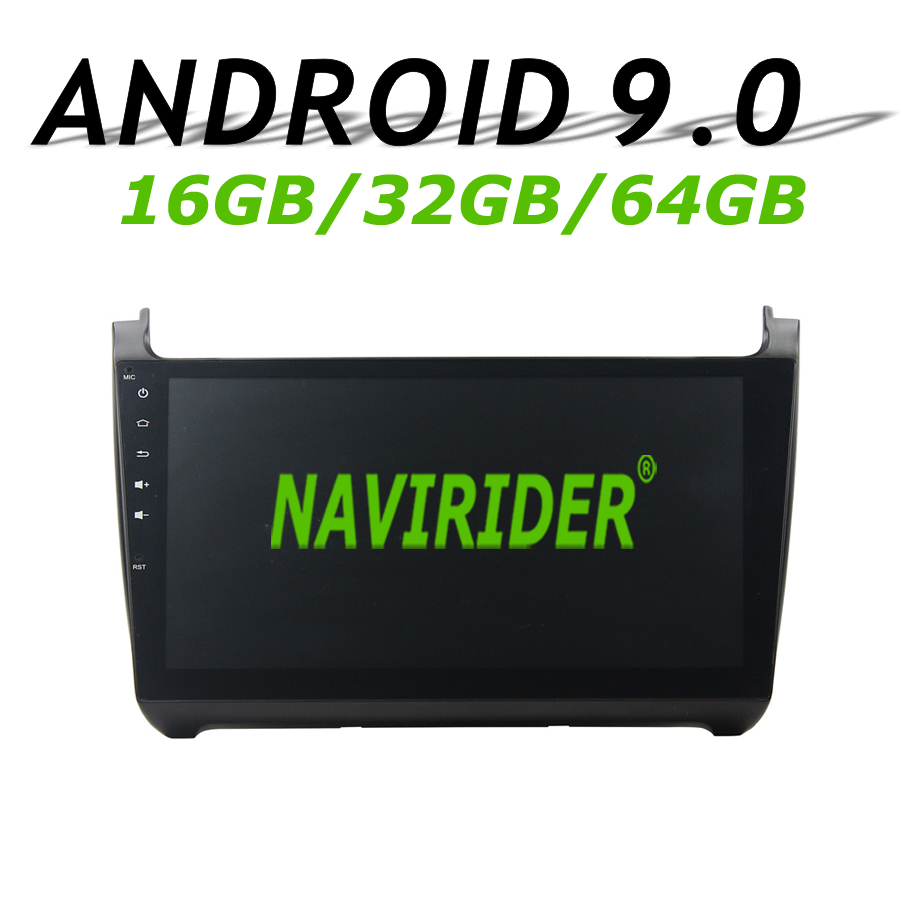 Navirider GPS navigation For POLO V 2015 full touch screen 10.1 Car android 9.0 8core 64gb rom radio bluetooth player stereoNavirider GPS navigation For POLO V 2015 full touch screen 10.1 Car android 9.0 8core 64gb rom radio bluetooth player stereo