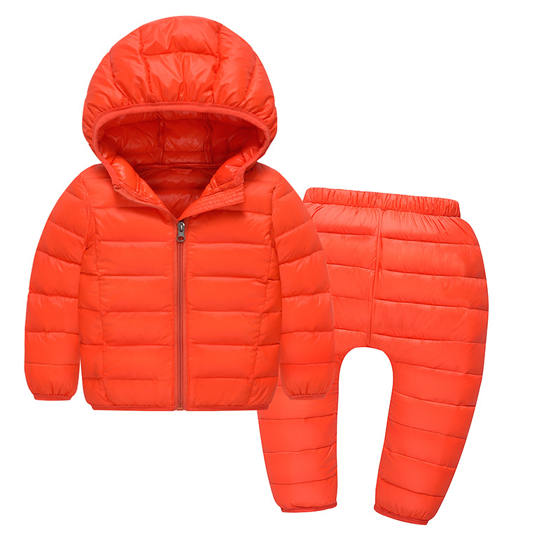 Girls Winter Coat Winter Coat Boys Hooded Zipper Fleeced Down Jacket and Pant For Girl Children Outerwear Winter Jackets Coats е п карнович собрание сочинений в 4 томах комплект из 4 книг