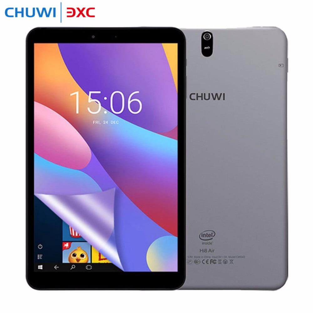 Newest! 8.0 inch Chuwi Hi8 Air Tablet PC Windows 10 Android 5.1 Dual OS Intel Cherry Trail x5-Z8350 Quad Core 2GB RAM 32GB ROM