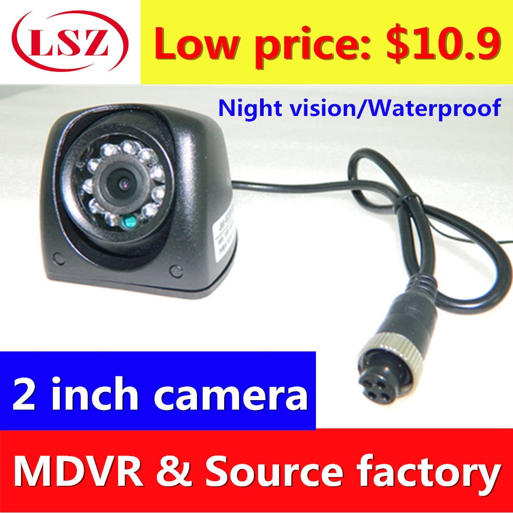 2 inch side mounted waterproof camera probe AHD 720P 960P 1080P HD pixel support train ship