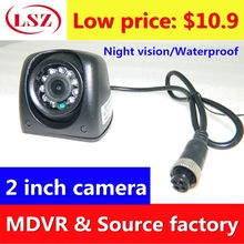 2 inch side mounted waterproof camera probe AHD 720P/960P/1080P HD pixel support train ship