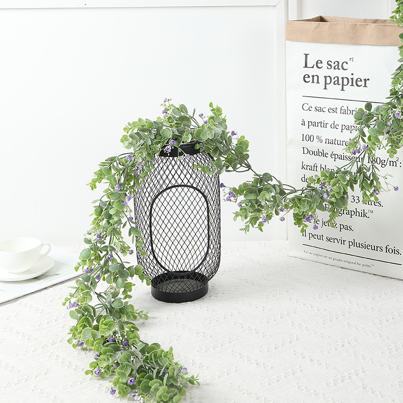 195cm long orchid rhyme simulation vine strip flower plastic Eucalyptus moneyledon wedding home decoration simulation plant