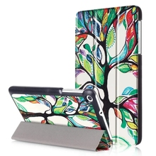 Luxury Stand Case Smart Cover For Huawei MediaPad T1 7.zero Slim Painting Tablet Case for Huawei Mediapad T2 7.zero Cover