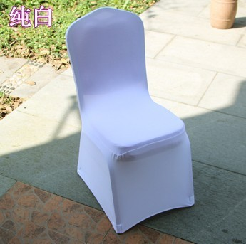 Free Shipping Hotel Elastic Thicken The Celebration Banquet Chair Covers Wedding Seat Back Cover