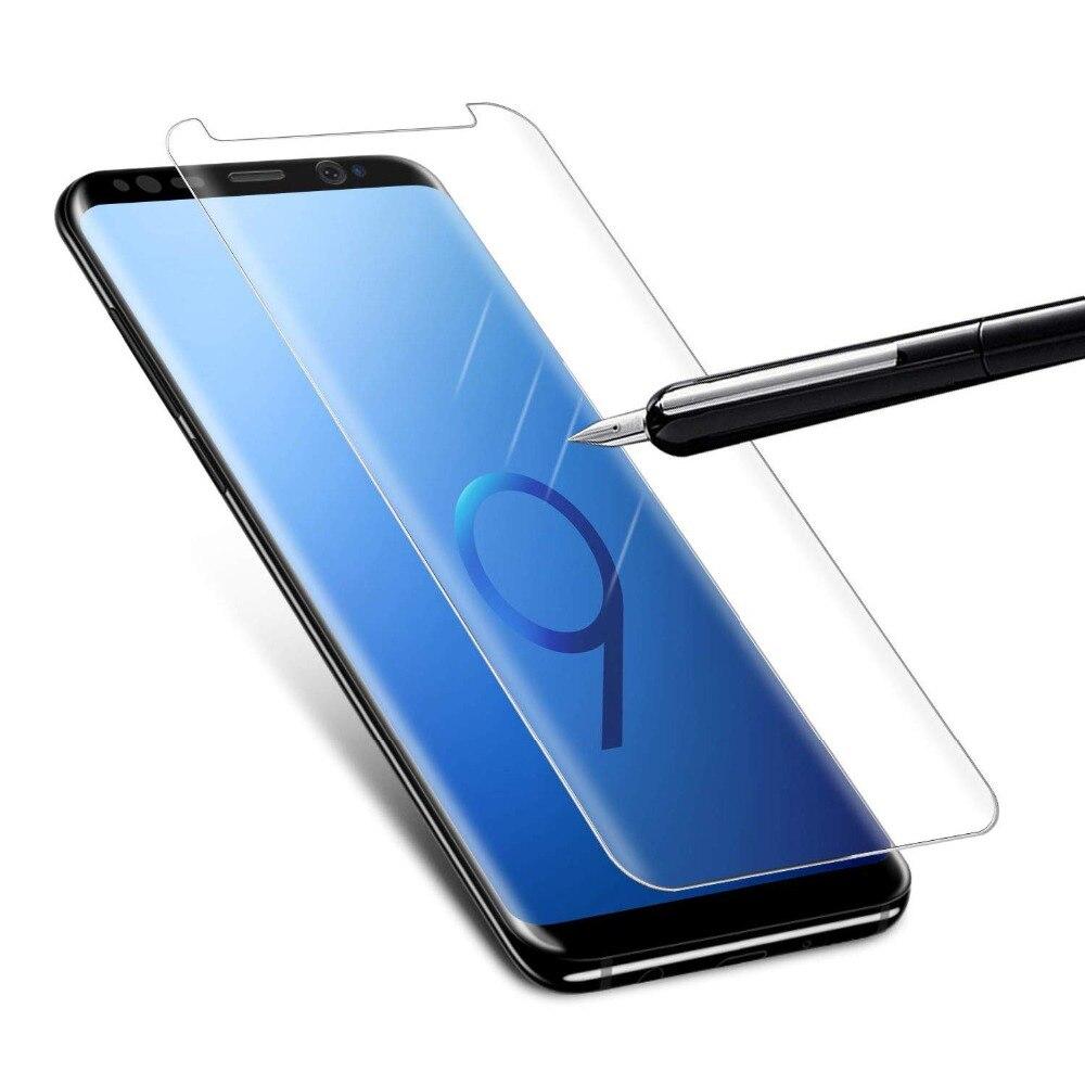 GzPuluz Glass Protector Film 25 PCS 9H 5D Full Glue Full Screen Tempered Glass Film for Galaxy J6 2018