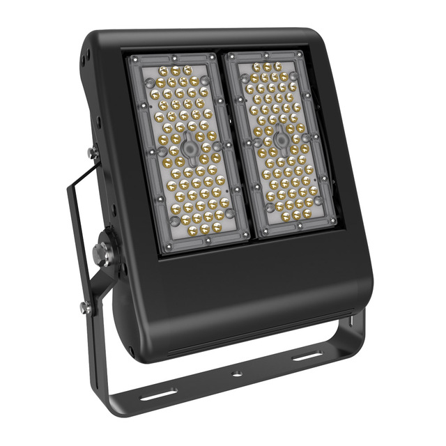 BECOSTAR 3pcs/pack Meanwell LED driver Industrial Football Tennies Court Stadium LED Flood lamps 100w warranty for 5 years