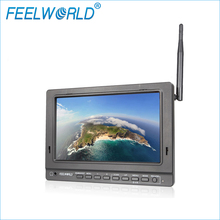 Feelworld PVR758 7 inch FPV Monitor with DVR 5.8G 32CH Diversity Receiver 1024×600 IPS 7″ Drone UAV LCD Monitor with HDMI Cable