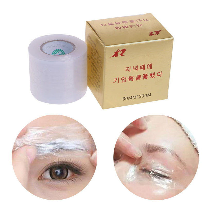 New Tattoo Plastic Wraps Cover Preservative Film Semipermanent Tattoos Eyebrow Liner