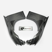 Carbon Fiber VF Style Front Wider Fender +20mm(Pre facelifted) Glossy Finish Wheel Flare Arch Kit Cover For FT86 GT86 FRS 12 18