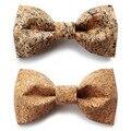 2016 женская мода лук галстук человек кожаная свадьба боути дизайнер свадебная галстук женщины ручной работы галстуки мужской papillon галстук