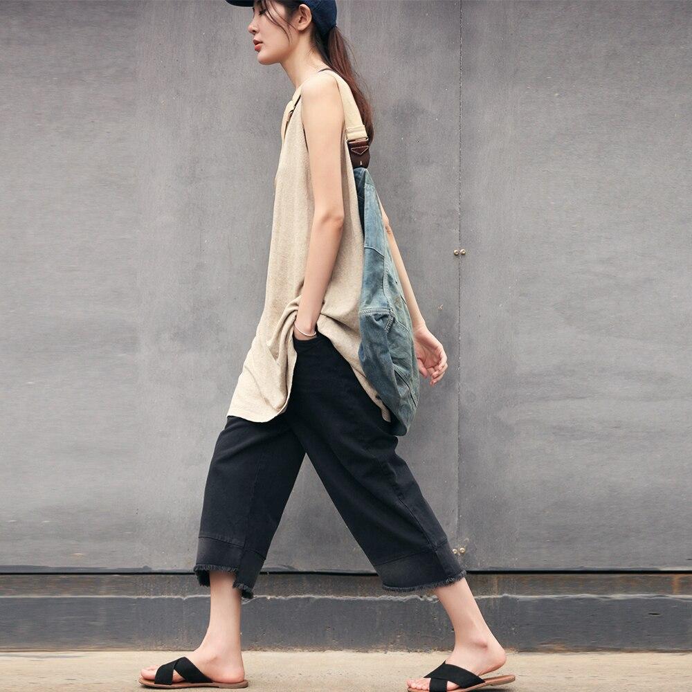 E-mail personalizado Splicing, Limpeza De Borda, Calças, Preto 7, Calças Retas, Calças Casuais, calças, calças de Verão Novos Produtos.