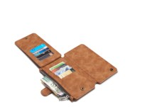 Luxury Real Leather Case For Samsung Galaxy Note 5 Magnet Flip Cover Card Holder Wallet Purse