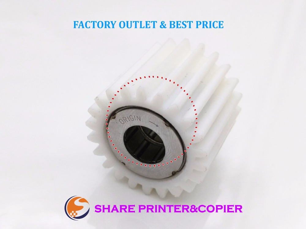 SHARE Original new 22T Fuser Drive Gear A03U809311 A03U809300 for Konica Minolta Bizhub c6501 c5500 c5501 c6000 7000 6500