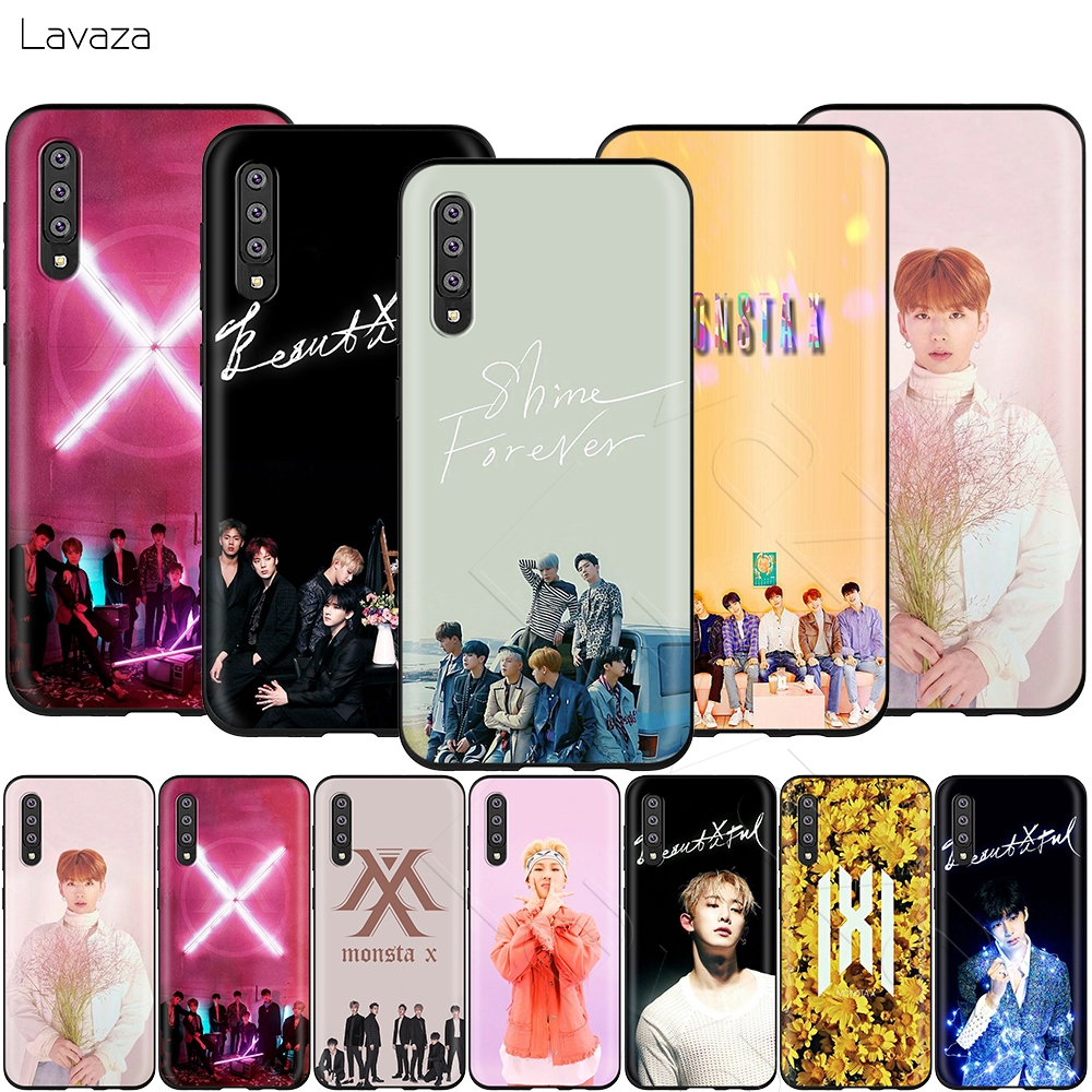 Lavaza <font><b>Kpop</b></font> Monsta X Case for <font><b>Samsung</b></font> Galaxy S6 S7 Edge <font><b>J6</b></font> S8 S9 S10 <font><b>Plus</b></font> A3 A5 A6 A7 A8 A9 Note 8 9 image