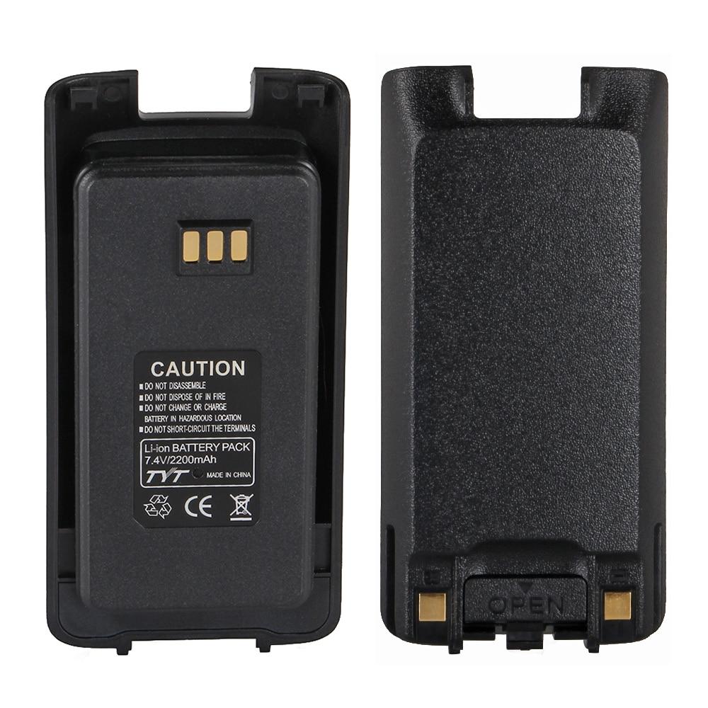 NEW Radio Walkie Talkie TYT MD390 Li-ion Battery Pack 7.4V 2200mAh For TYT MD-390 IP67 Waterproof DMR Digital Walkie Talkie