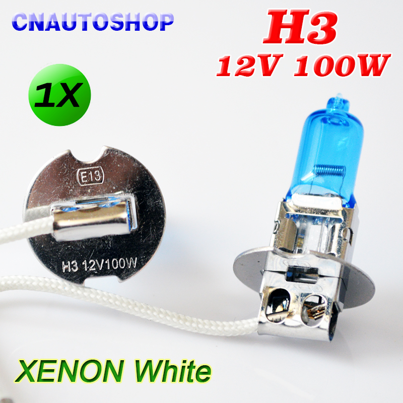 Hippcron H3 12V 100W Halogen Lamp Xenon Bright Super White Dark Blue Quartz Glass Car Fog Headlight Auto Bulb hanro бюстгальтер