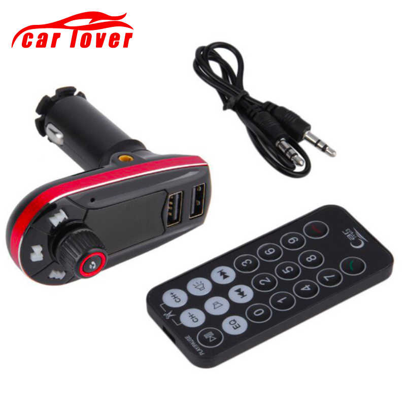 3-en-1 Kit de coche MP3 transmisor FM REPRODUCTOR DE Bluetototh coche modulador de Radio Bluetooth Dual Puerto del cargador del coche para IPhone para Samsung