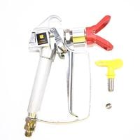 1 SET High Pressure Airless Paint Spray Gun +Nozzle Guard for Wagner Titan Pump Sprayer Spraying Machine+517 Spray Tip