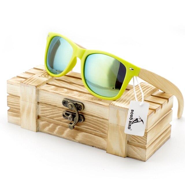 2016 New Arrival Plastic and Wood Sunglasses For Men Fashion Bamboo Sunglasses Oculos De So Feminino In Gift Box