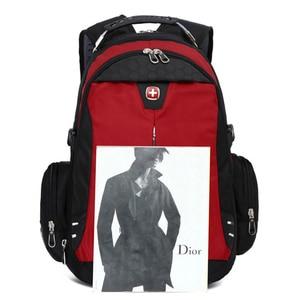 Image 4 - Backpack Fashion Leisure Shoulder Travel School Bags Laptop Computers Unisex Rucksacks Bagpack Hot Super Quality laptop travel