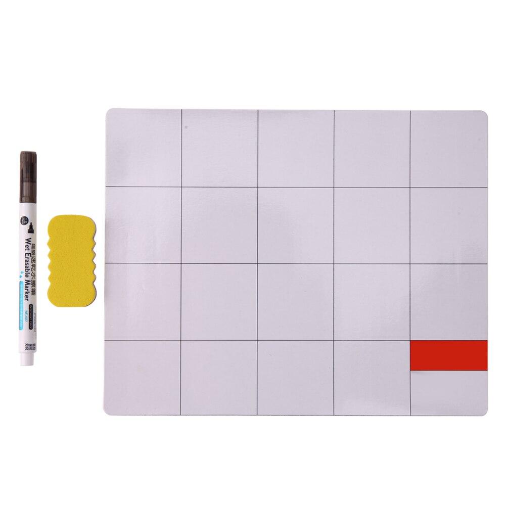Magnetic Project Mat Screw Repair Mat Pad with Marker Pen <font><b>Eraser</b></font> for <font><b>Cell</b></font> <font><b>Phone</b></font> Laptop Tablet iPhone Repair Tools Mat