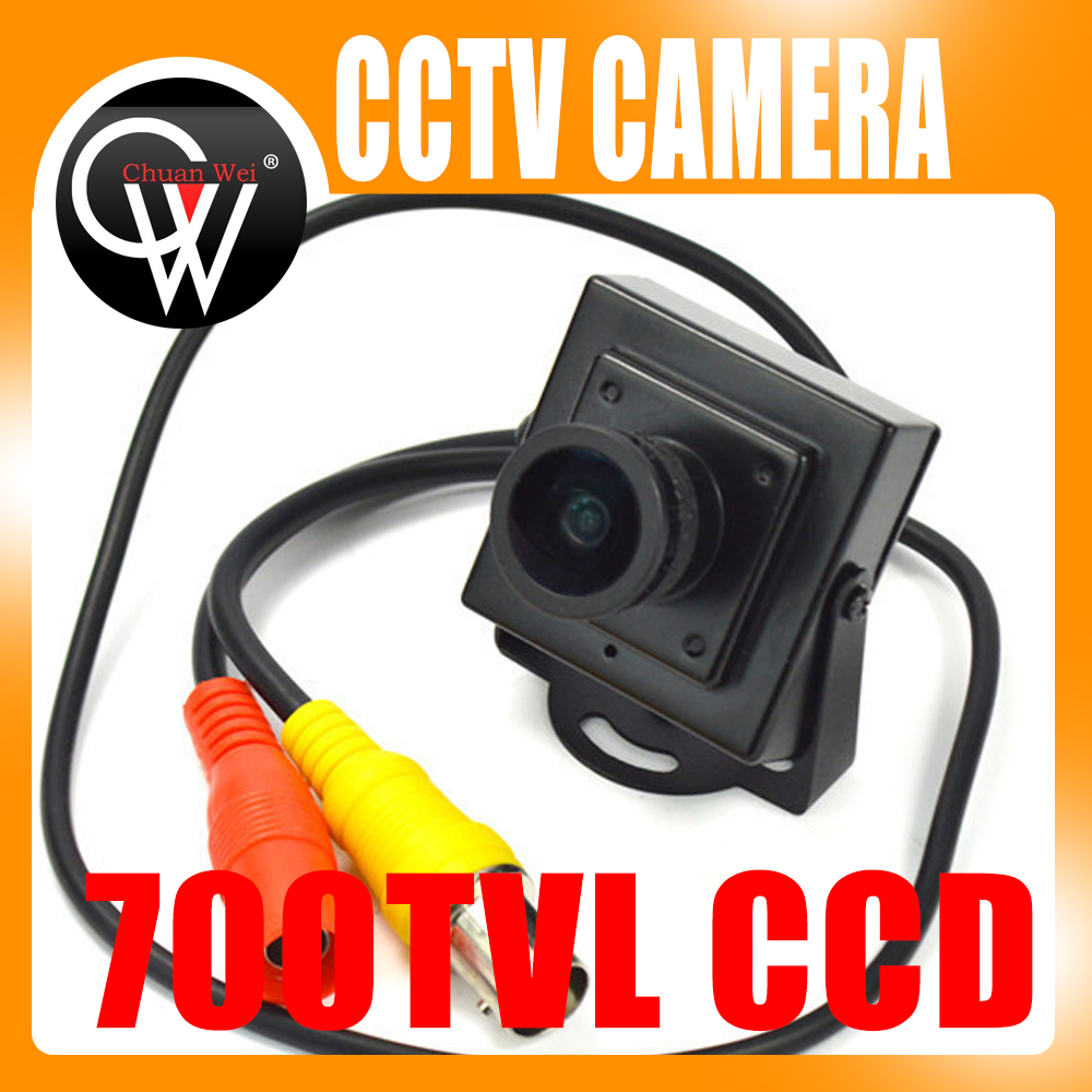New Mini HD 700TVL 1/3 Sony CCD 2.1mm Wide Angle Lens CCTV Security FPV Color Home Security Camera