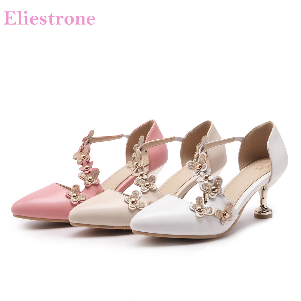 b38283ebbbd Brand New Hot Sweet Pink White Women Party Sandals High Stiletto Heels  Fashion Ladies Bridal Shoes