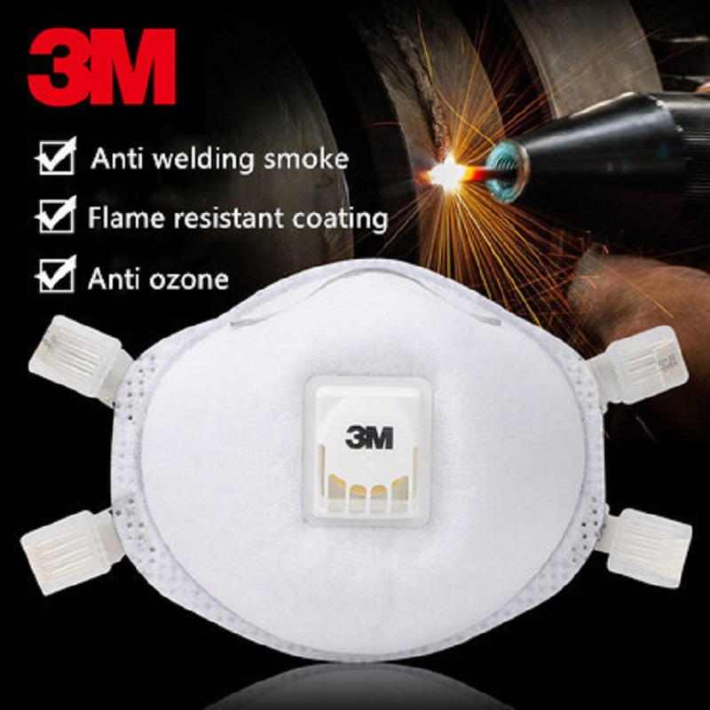 1pcs 3M 8514 Industrial Dust Mask Particles Respirator Professional Welding Filter Respirator Flame-retardant Exterior1pcs 3M 8514 Industrial Dust Mask Particles Respirator Professional Welding Filter Respirator Flame-retardant Exterior