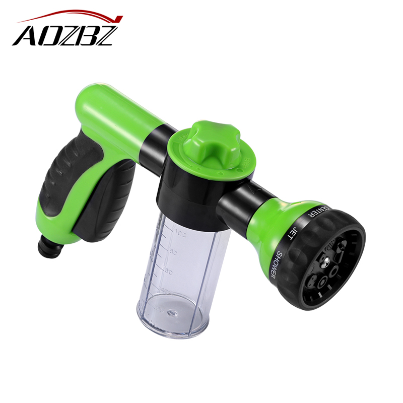 Automobiles & Motorcycles Bright 4pcs Portable Foam Water Gun High Pressure Car Washing Connector For Gardening Plants Household