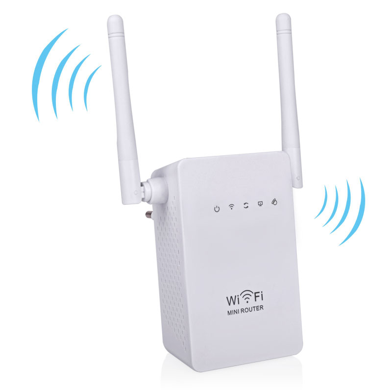 new wifi router wireless n wifi repeater b g n network repetidor wi fi extender 300mbps. Black Bedroom Furniture Sets. Home Design Ideas