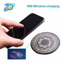 Wireless Charging USB Mini Magic Array 10W Fast Charging For Android For Apple QI Ultra-thin Wireless Charger