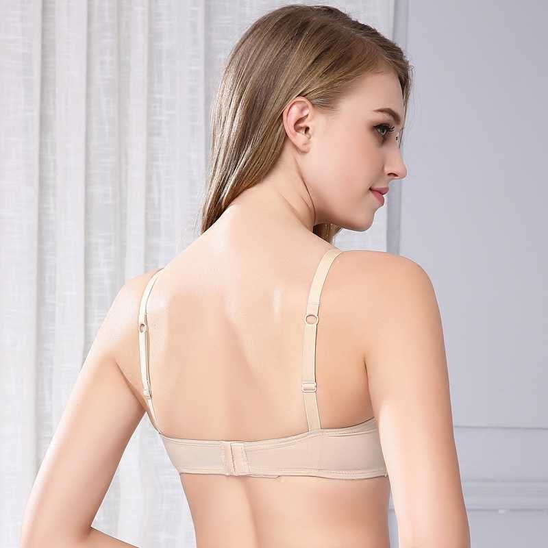 ac24571237b ... bra Europe and the United States to wear bra breasts thin section no  steel ring underwear