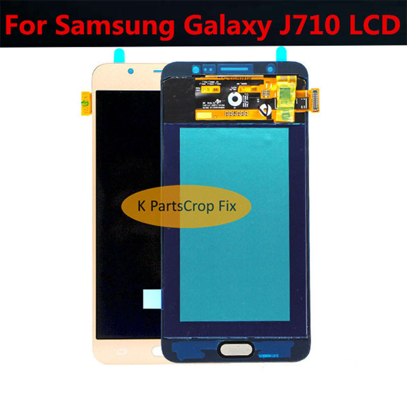 5 5 For SAMSUNG GALAXY J710 LCD J7 2016 J710F SM J710F J710FN Display Touch Screen