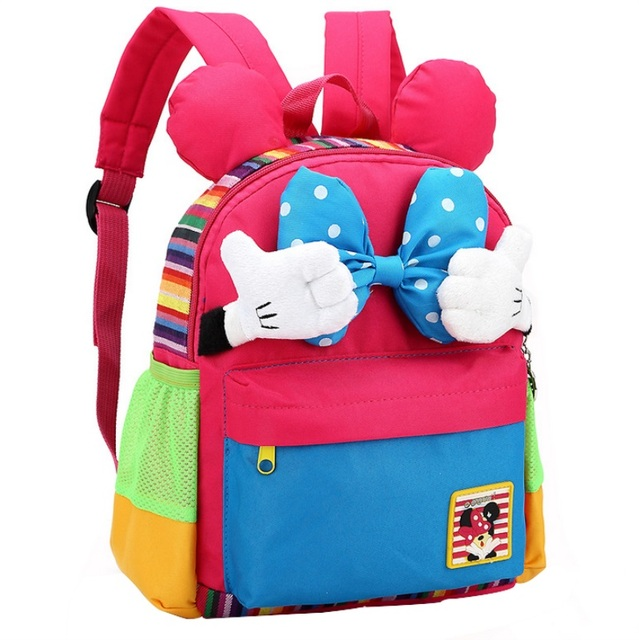 43d952fbeee3 Cute Kids Backpack Kindergarten Girls Boys Children Backpack Kawaii School  Bag Korean Style Bow-knot For 1-5 years old