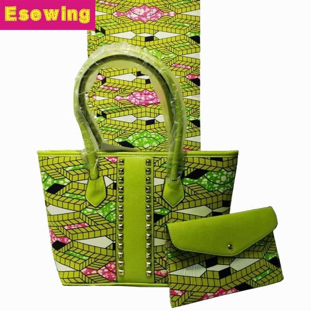 2ddf45922da2 Esewing 2018 Super Wax Hollandais Handbag Set