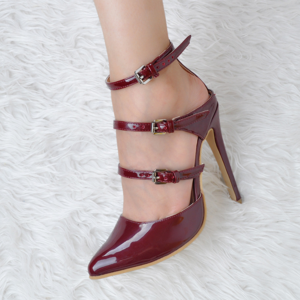 ФОТО Women Shoes Summer Fashion Pumps Pointed Toe High Heels Pumps EU34-43 Large Size Shoes Women
