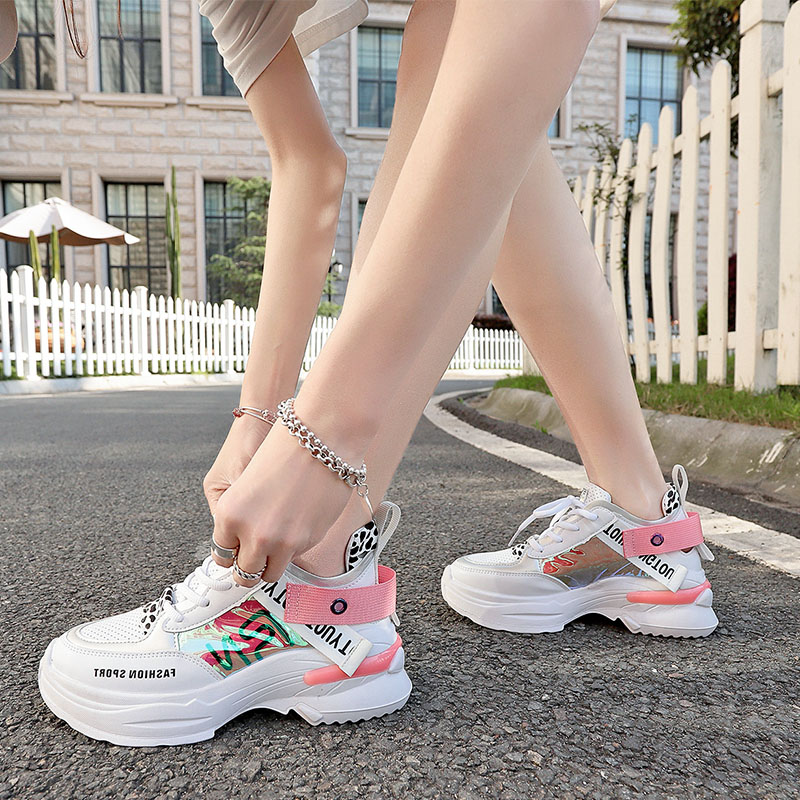 Taoffen Candy Colors Fashion Ladies Sneakers Running Shoes Women Daily Outdoor Vacation Casual Walking Shoes Women Size 35 40 in Running Shoes from Sports Entertainment