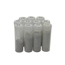 BGA Solder Ball 25K 0.2mm 0.25mm 0.3mm 0.35mm 0.4mm 0.45mm 0.5mm 0.55mm 0.6mm 0.65mm 0.76mm Leaded Tin Solder Balls
