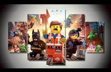 HD Printed the lego movie picture painting wall art Canvas Print room decor poster canvas Free shipping/up-907