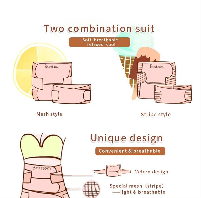 Postpartum Bandage Belly Band  3_01