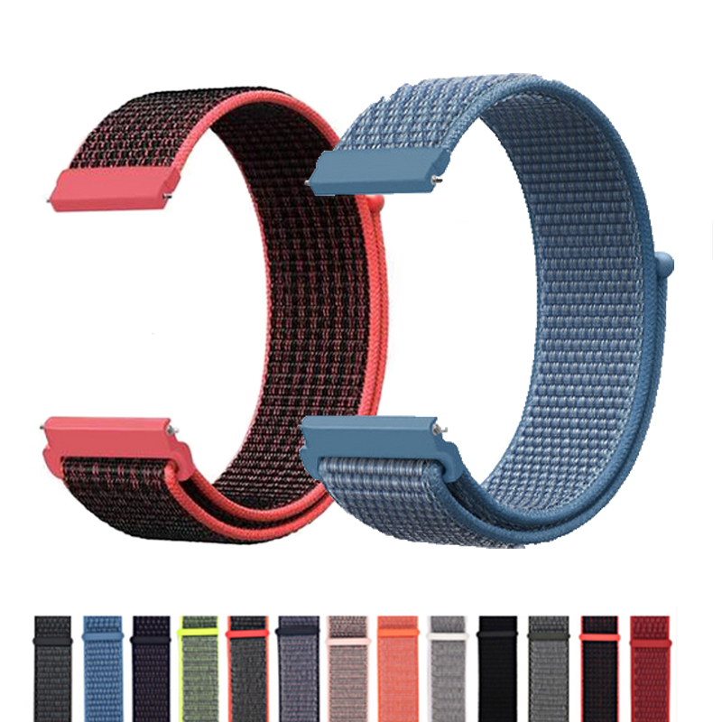 Nylon Wrist Strap For Huawei Watch GT 2 Classic Watch Bands 22 Mm Honor Watch Magic Replacement Bracelet Band