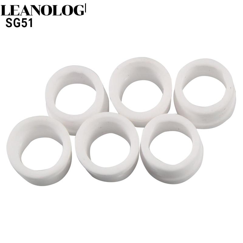 30pcs Plasma Cutting Accessories SG51 Consumables Gas Ring For 60a Inverter DC Air Plasma Cutter SG51 Cutting Torch/Gun