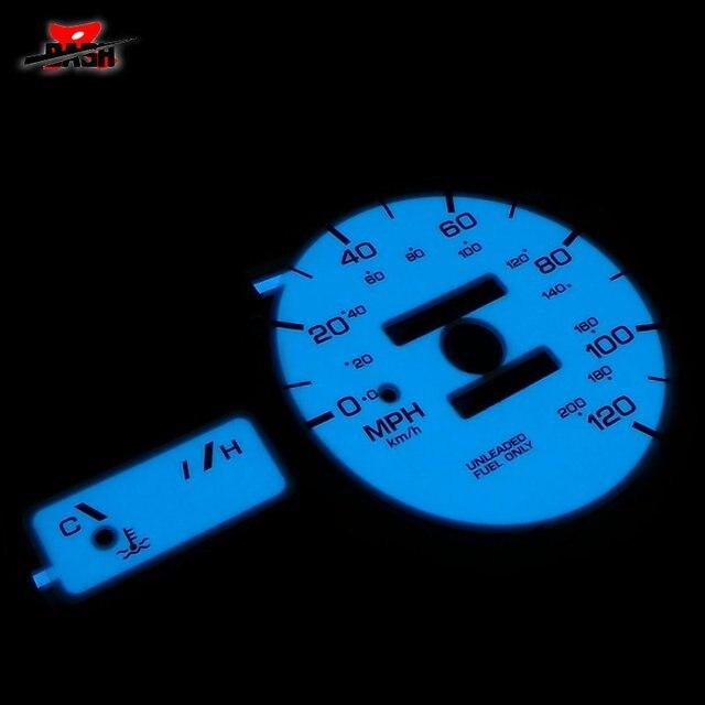 DASH EL Glow Gauge for Altima 1993 1997 Full Glow Blue Green interchange RPM red line from 6500