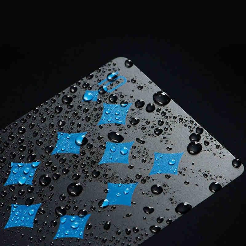 Durable Étanche PVC Poker Cartes À Jouer En Plastique Cartes Ensemble Texas Poker Carte Classique Pokers Chaude Famille Recueillir Accessoires de Jeu