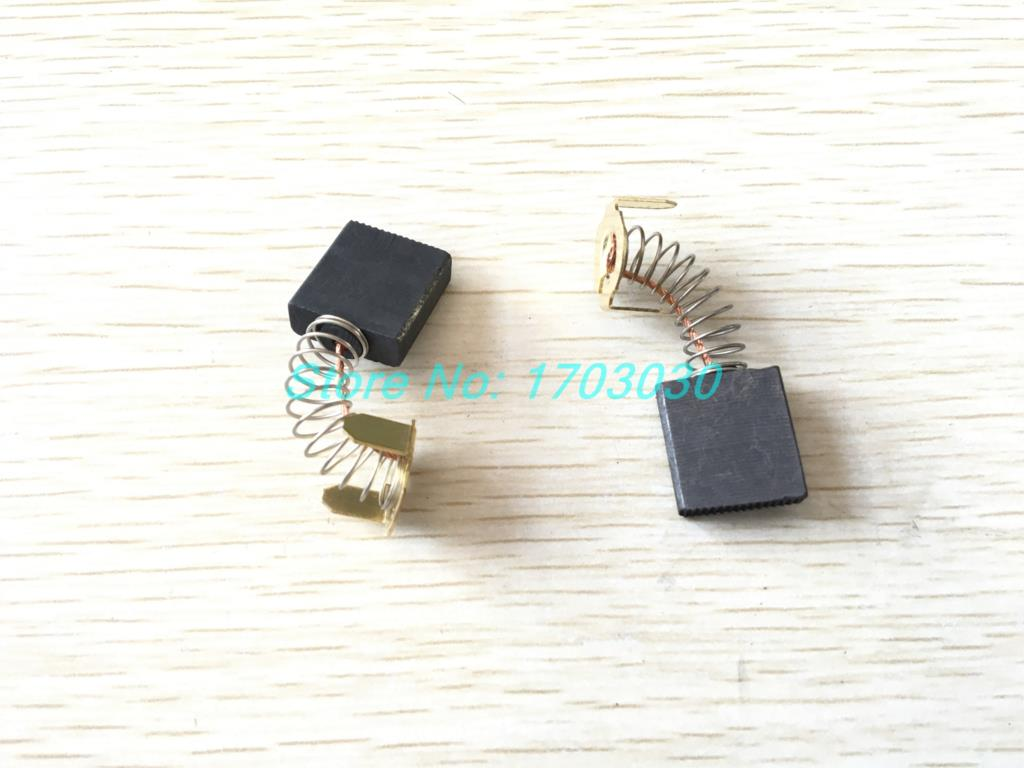 2pcs Electric Motor Carbon Brush Replacement 7 X 17 X 18mm