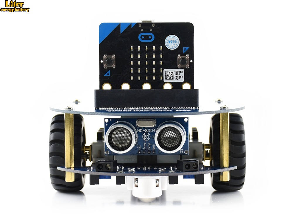 AlphaBot2 robot building kit for micro:bit, with controller BBC micro:bitAlphaBot2 robot building kit for micro:bit, with controller BBC micro:bit