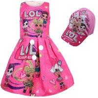 2019 новая распродажа для маленьких девочек принцесса День рождения жилет с оборкой Детские платья для LOL божья коровка Куклы-пачка Летнее пл...