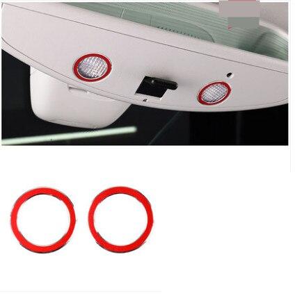 For Mercedes Benz A B C E Class CLA GLA GLK ML GL GLC Rearview Mirror Light Decoration Ring Sticker Car Styling Accessories