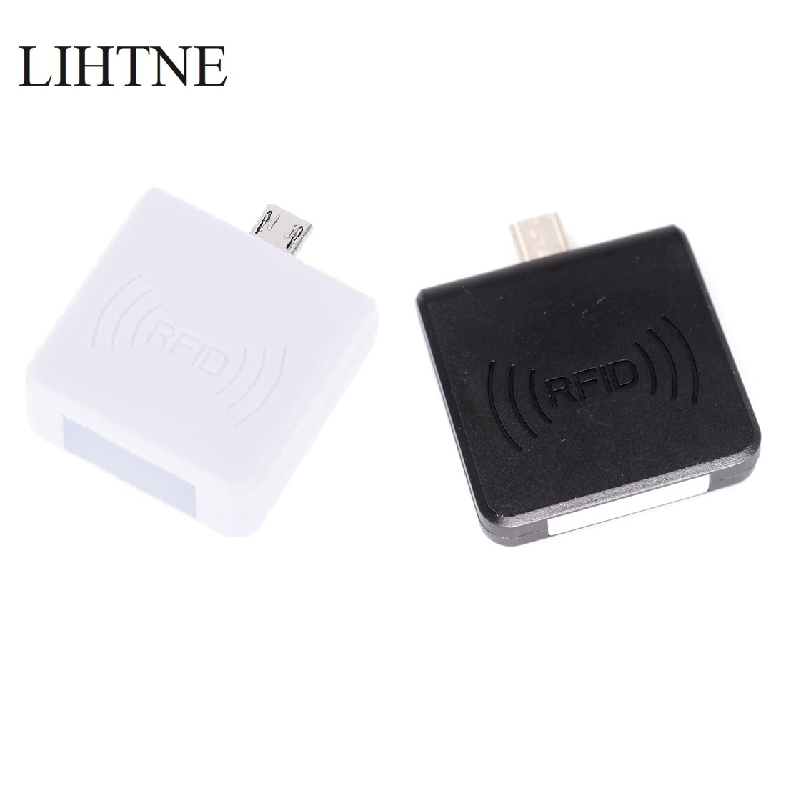 RFID 13.56Mhz IC MF1 S50 S70 NFC Reader Portable Mirco USB Card Reader for Android Phone
